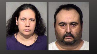 Brenda Acuna-Aguero and Murrieta-Valenzuela are accused of  forcing a day laborer to have sex at gunpoint.