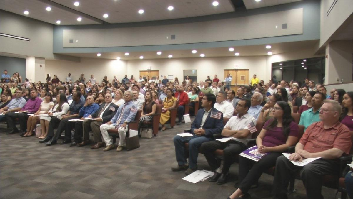 Immigrants living in Arizona gain their citizenship on 9/11