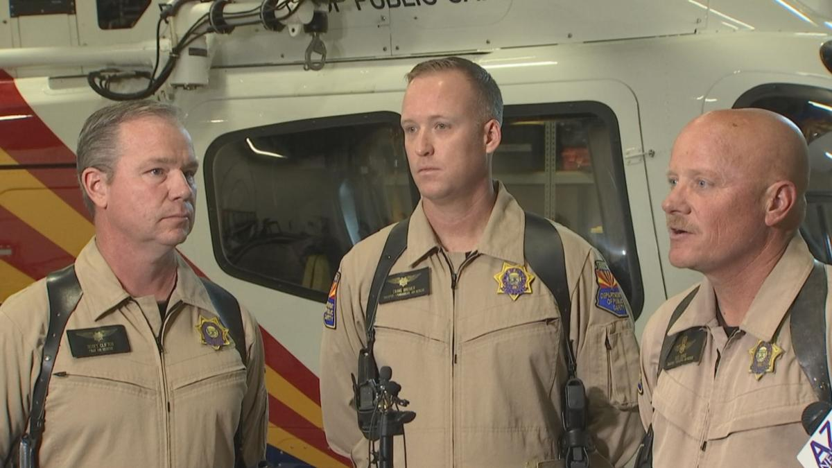 DPS helicopter crew