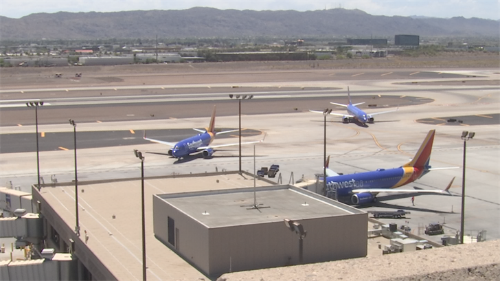 Dozens of Southwest flights delayed, canceled at Sky Harbor due to safety inspections