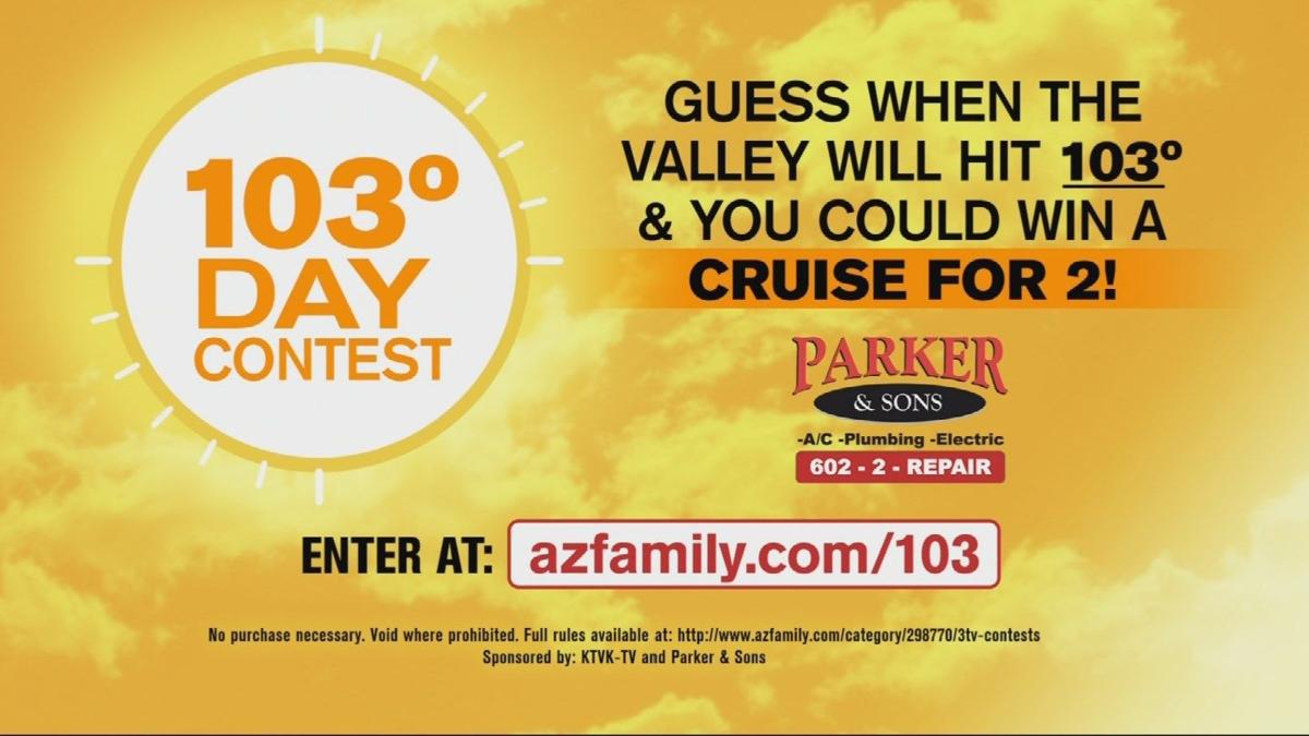 CONTEST: Guess when the Valley will hit 103