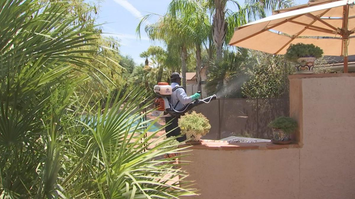 Burns Pest Elimination spraying for mosquitoes