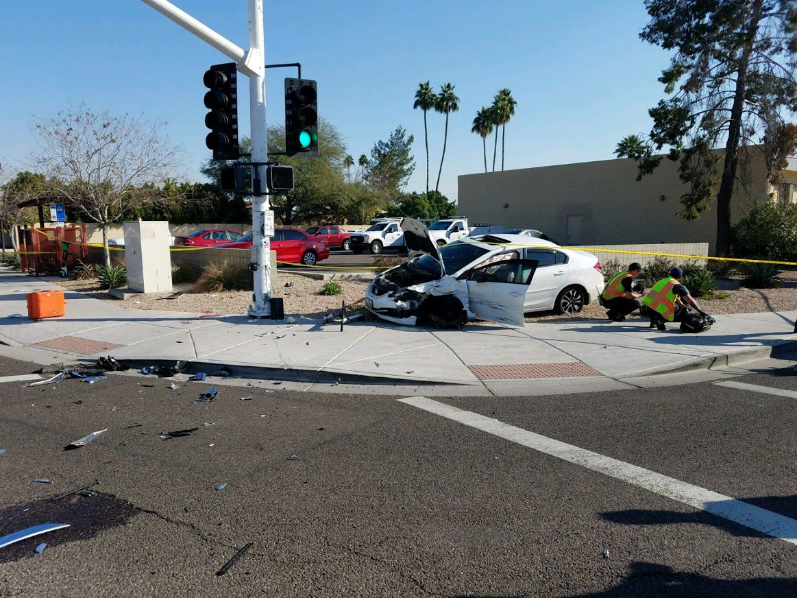 Miller Rd. and Thomas Rd. in Scottsdale