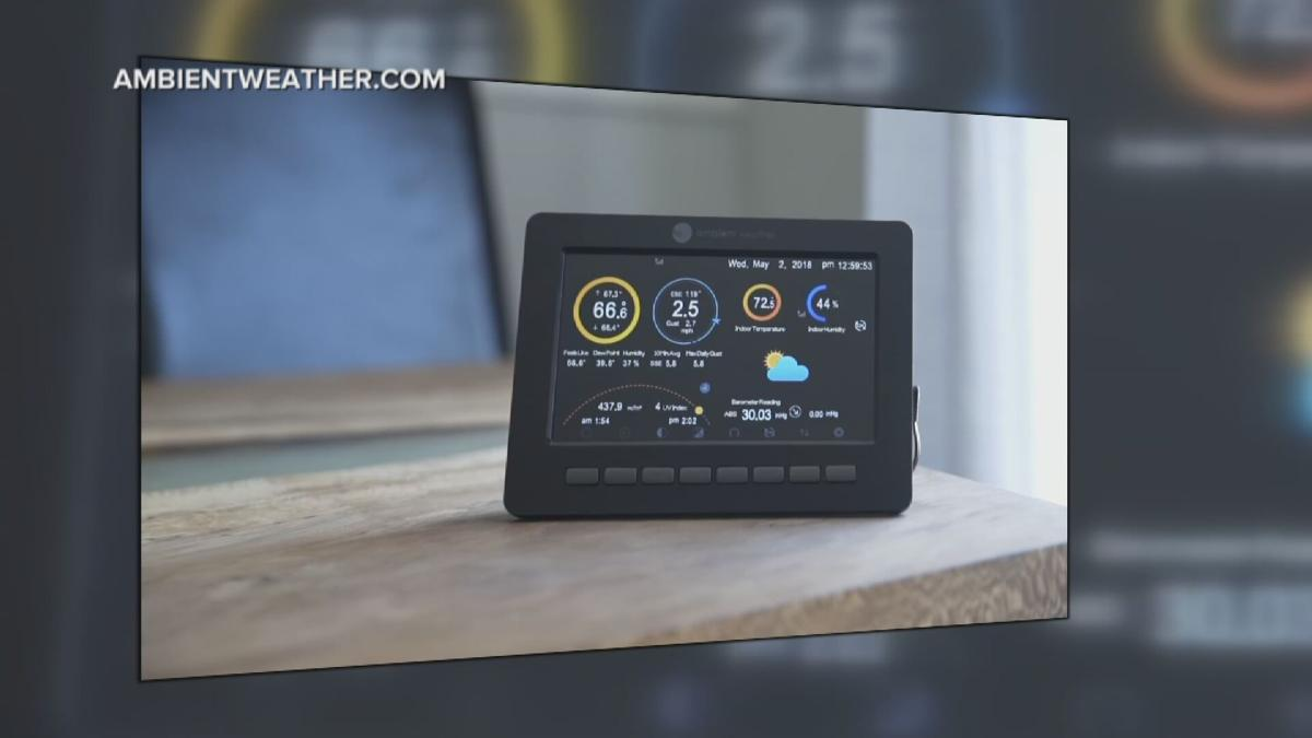 at-home weather station