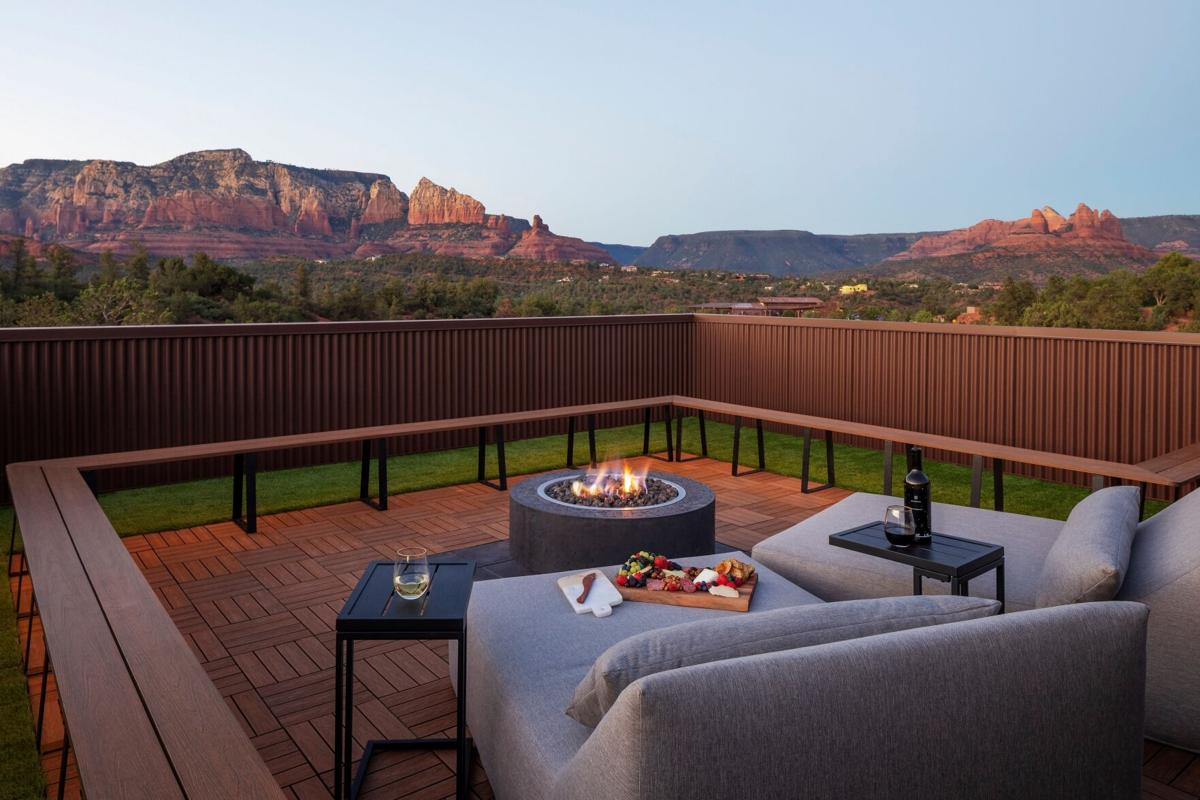 Ambiente Roof Fire Pit
