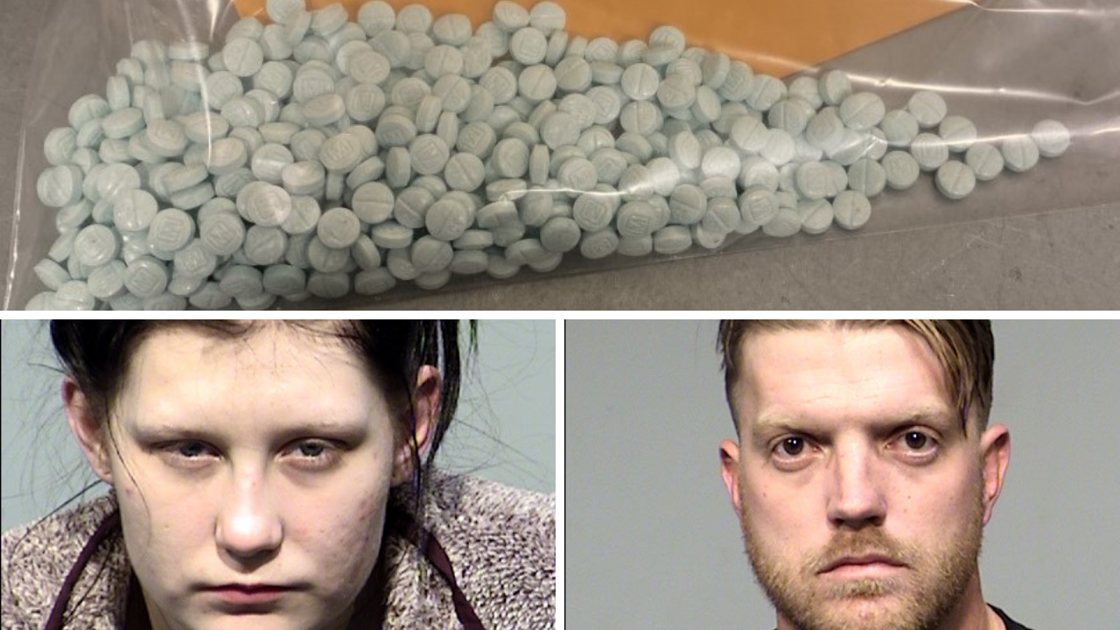 Woman hides 445 fentanyl pills in her pants; man also arrested, Yavapai County deputies say