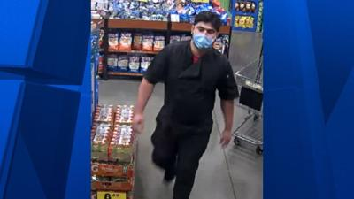 Apache Junction police are searching for this suspect