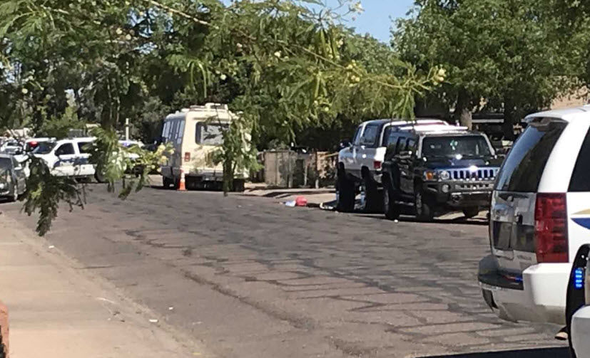 Two kids taken to hospital after Phoenix accident; one boy has since died.