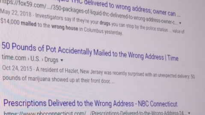 Smugglers Delivering Drugs To Wrong Addresses In Phoenix Area Cbs 5 Investigates Azfamily Com