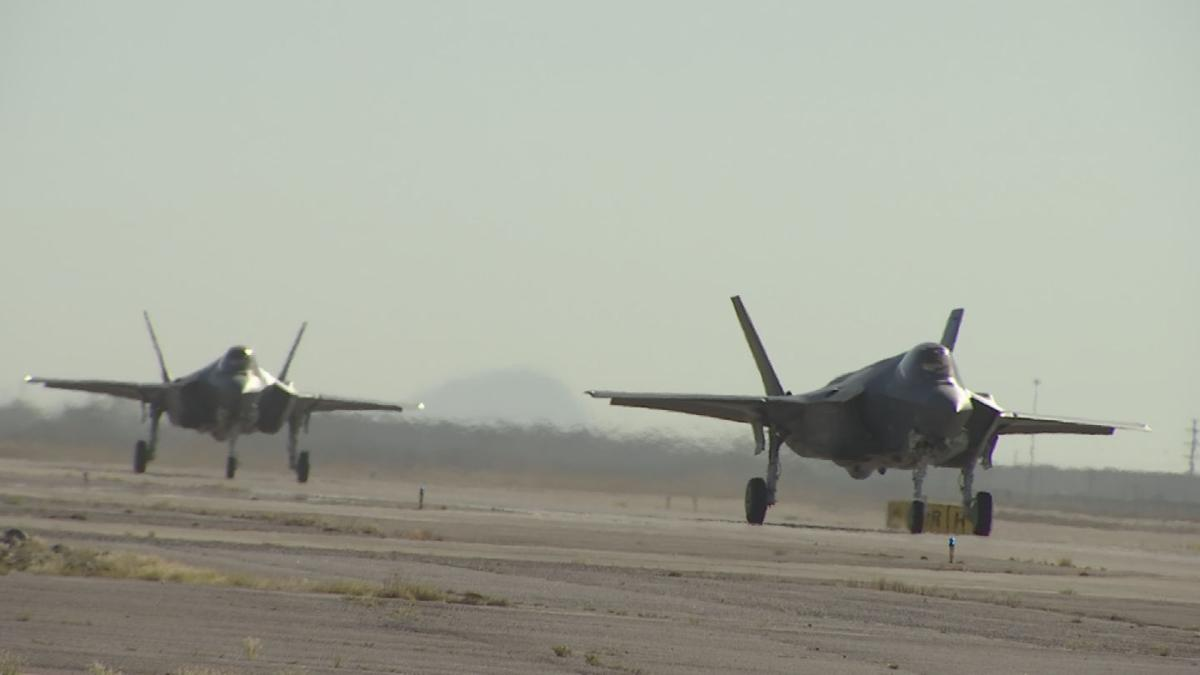Seventy percent of USAF F-35 pilots are trained at Luke Air Force Base in Glendale
