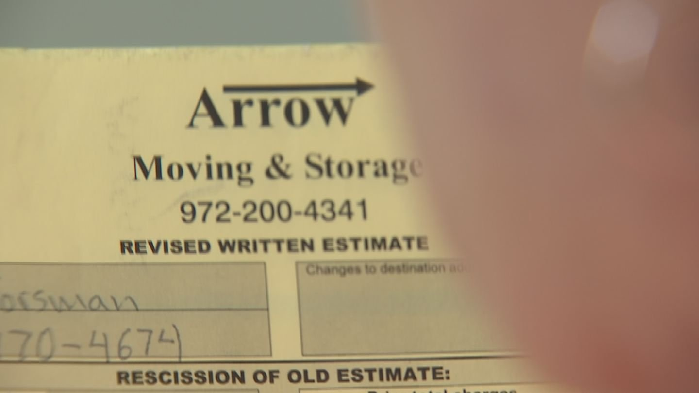 Phoenix Homeowner Says Moving Company Is U0027boxingu0027 Her In | 3 On Your Side |  Azfamily.com