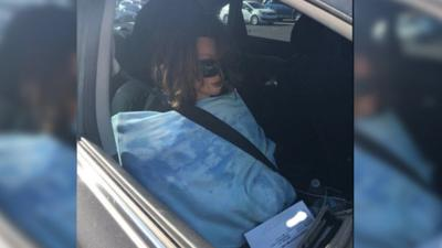 Don't be a dummy! Driver busted after having mannequin in carpool lane