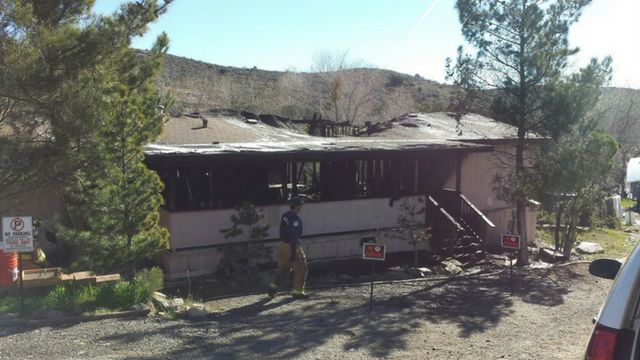 Arson suspected in fire that destroyed home, killed two dogs