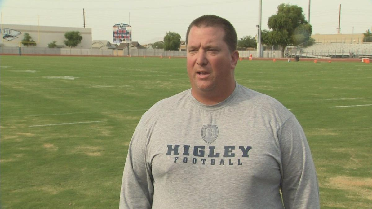 Higley defensive end Ty Robinson, you can call him 'Lord Shaxx!'
