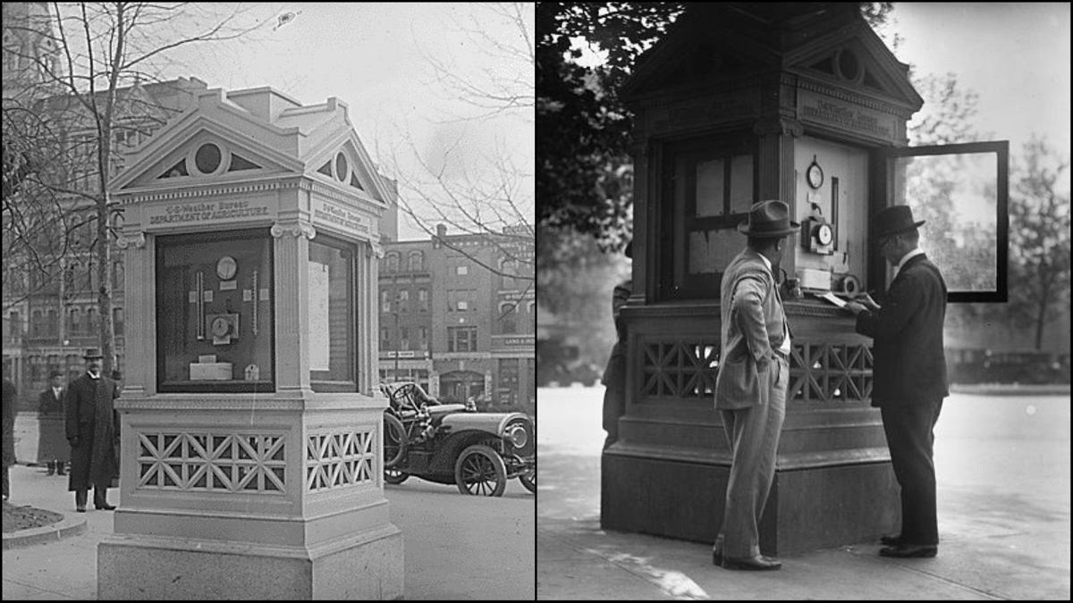 Before you had live radar in the palm of your hand, there were weather kiosks