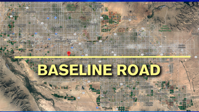 Why is Baseline Road called Baseline Road Weather Blog