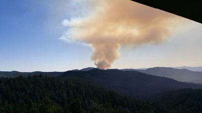 Crews battling Johnson Fire, burning over 100 acres southwest of Prescott