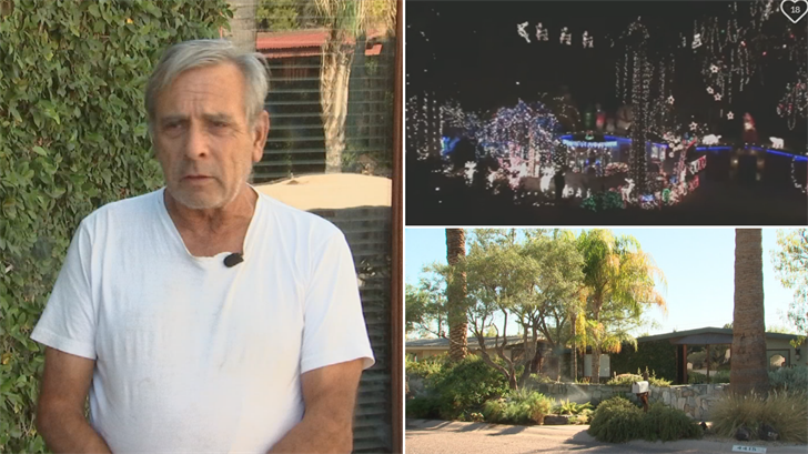 Battle resumes over Arcadia holiday lights, homeowner decorating anyway