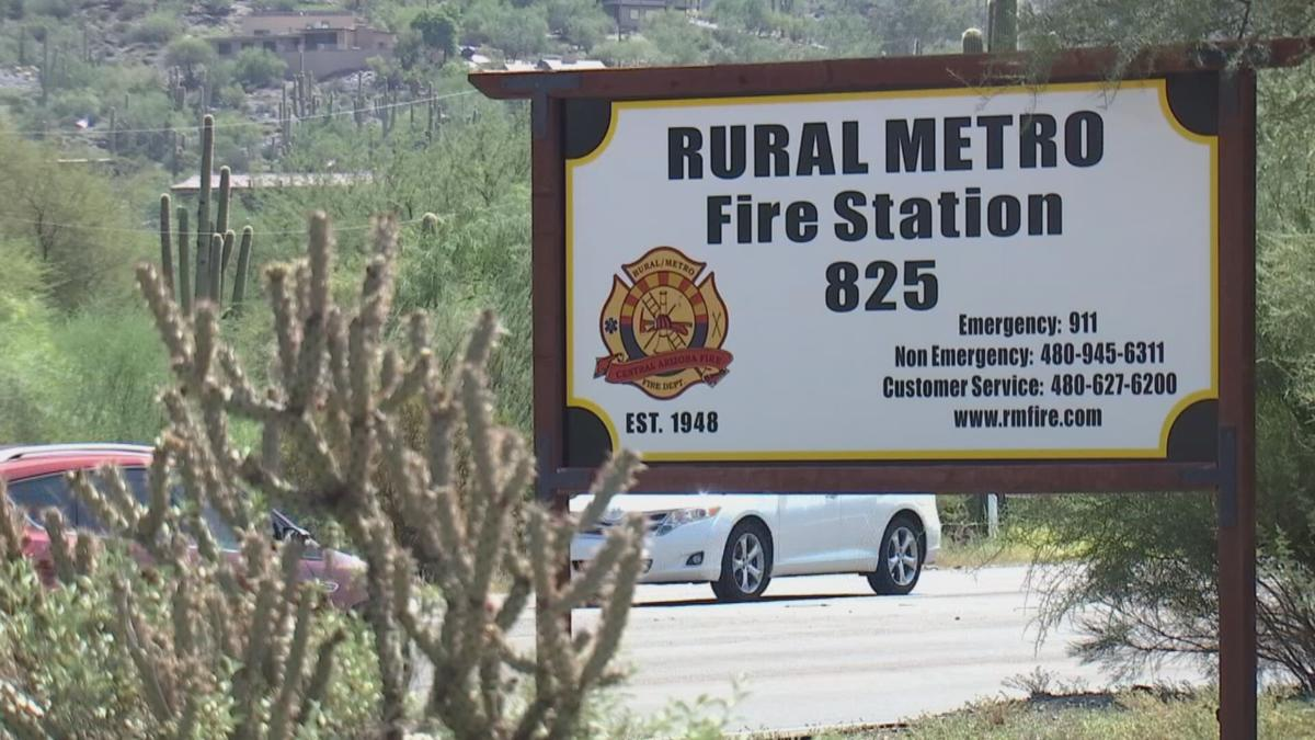 Old Rural Metro fire station