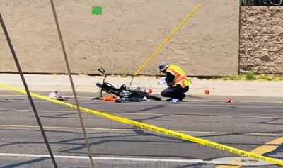 Police investigating deadly crash involving bicyclist in Phoenix