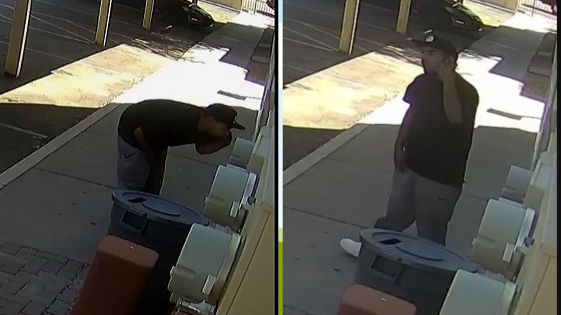 Caught on tape: Man attempts to break-in to apartment mailboxes