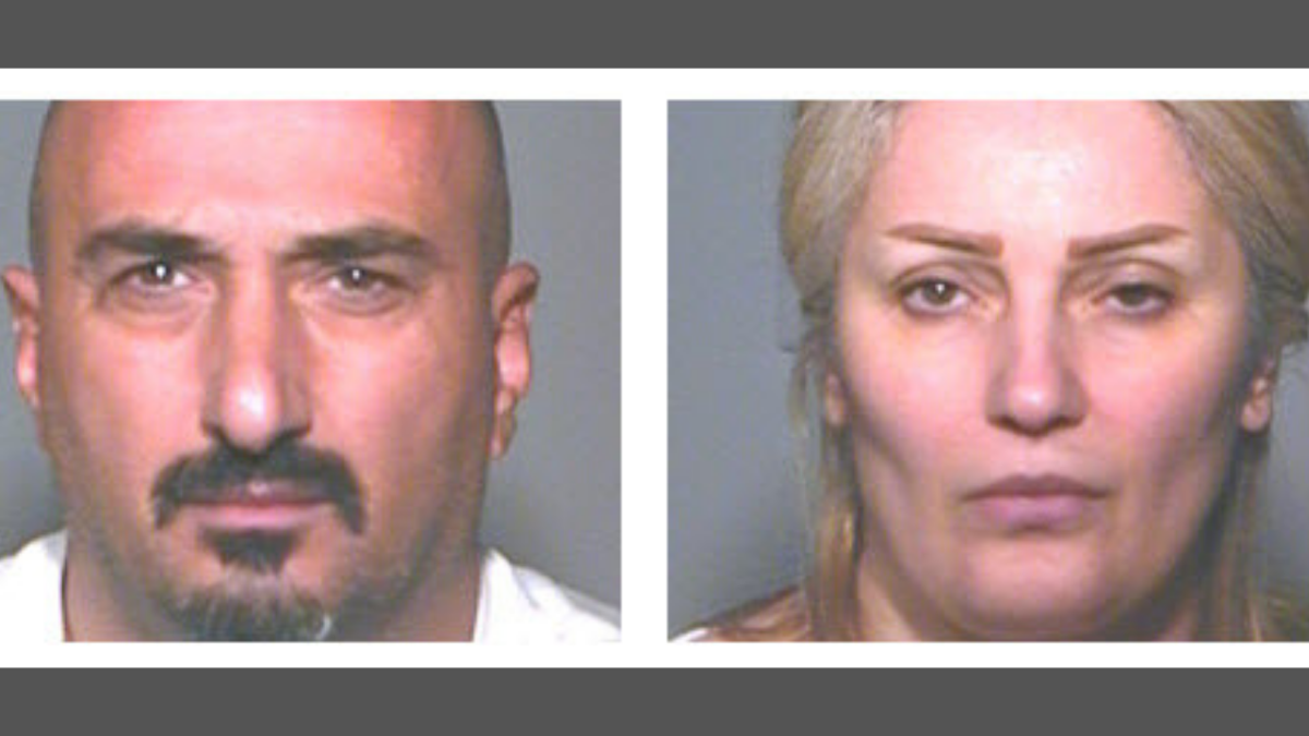 "Police say 46-year-old Rafid Khoshi and his wife, 43-year-old Manal Sulaiman, were purchasing stolen baby formula from so-called ""boosters."""