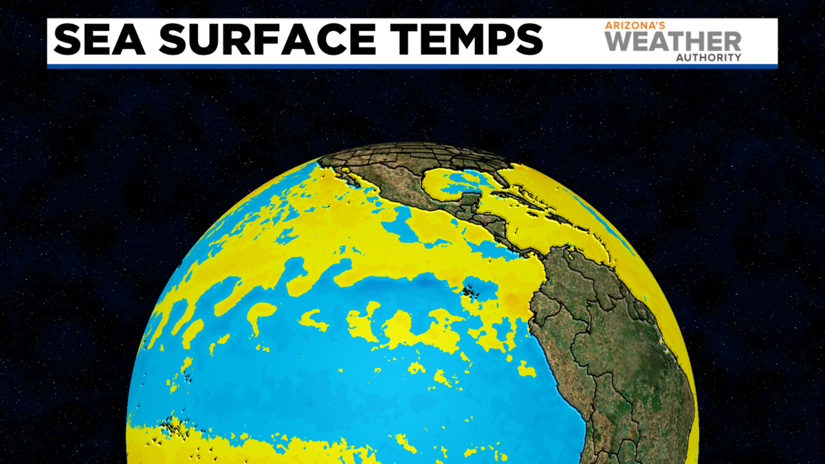 Relative sea surface temps right now.