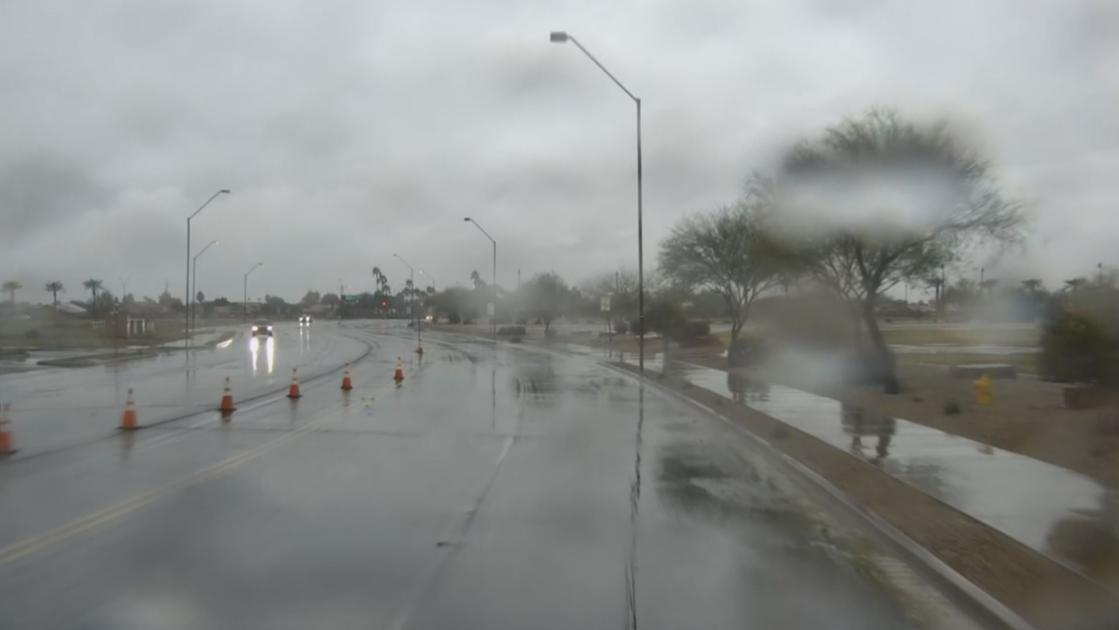 Storm brings record-breaking rain in Phoenix area, causes flooding in parts of AZ