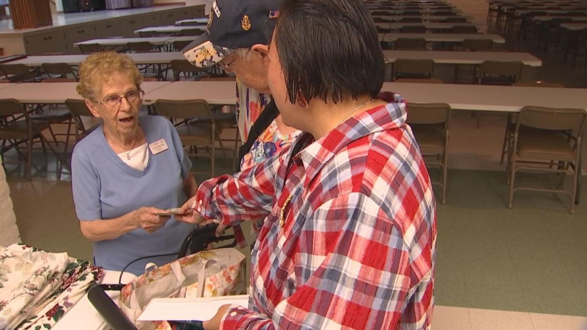 Church volunteer Pays it Forward to 91-year-old Sun City grandmother helping others