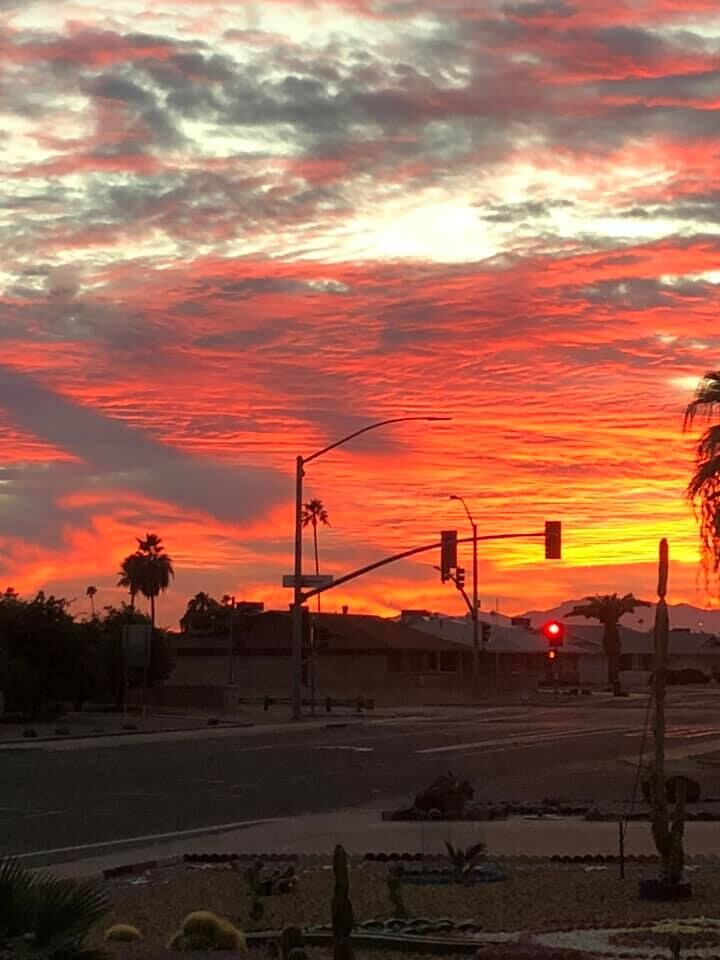 Tuesday's sunset another stunner for Arizona