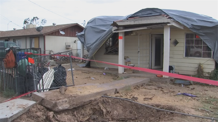 Surprise Squad: Mesa family gets help after home destroyed by powerful monsoon storm