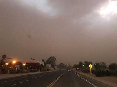 Dust storms lead to emergency room visits
