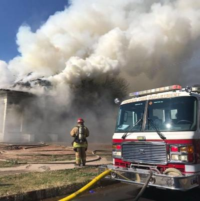 House fire in central Phoenix