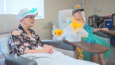 Women become friends over chemo