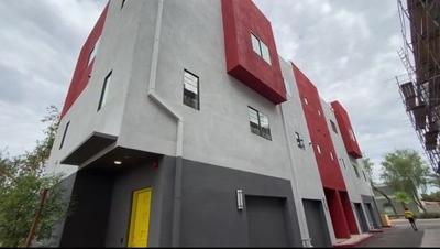 New 'affordable' 20-unit townhome complex opens in central Phoenix - exterior