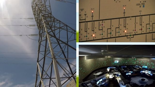 SRP monitors the power grid