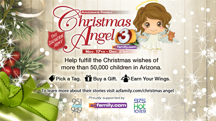 Christmas Angel program brings holiday joy to kids
