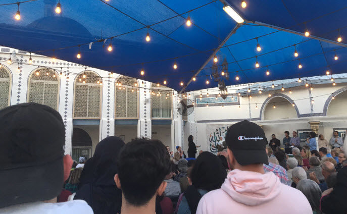 It was standing room only in Tempe Saturday evening at a vigil to remember the victims of the New Zealand mosque massacre.