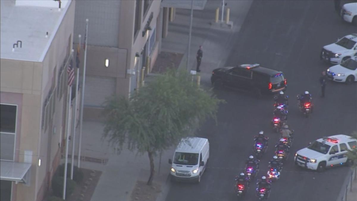Procession for Chandler officer killed in Gilbert overnight
