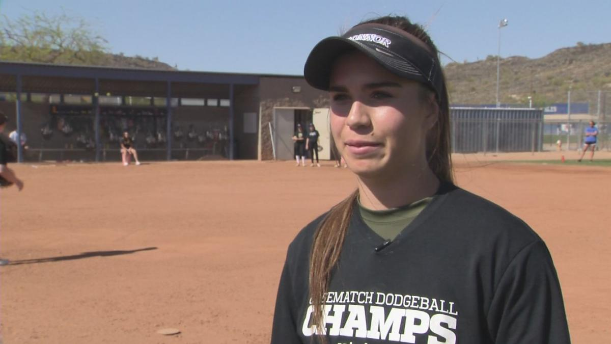 Softball player overcomes heart issue to shine for Sandra Day O'Connor HS