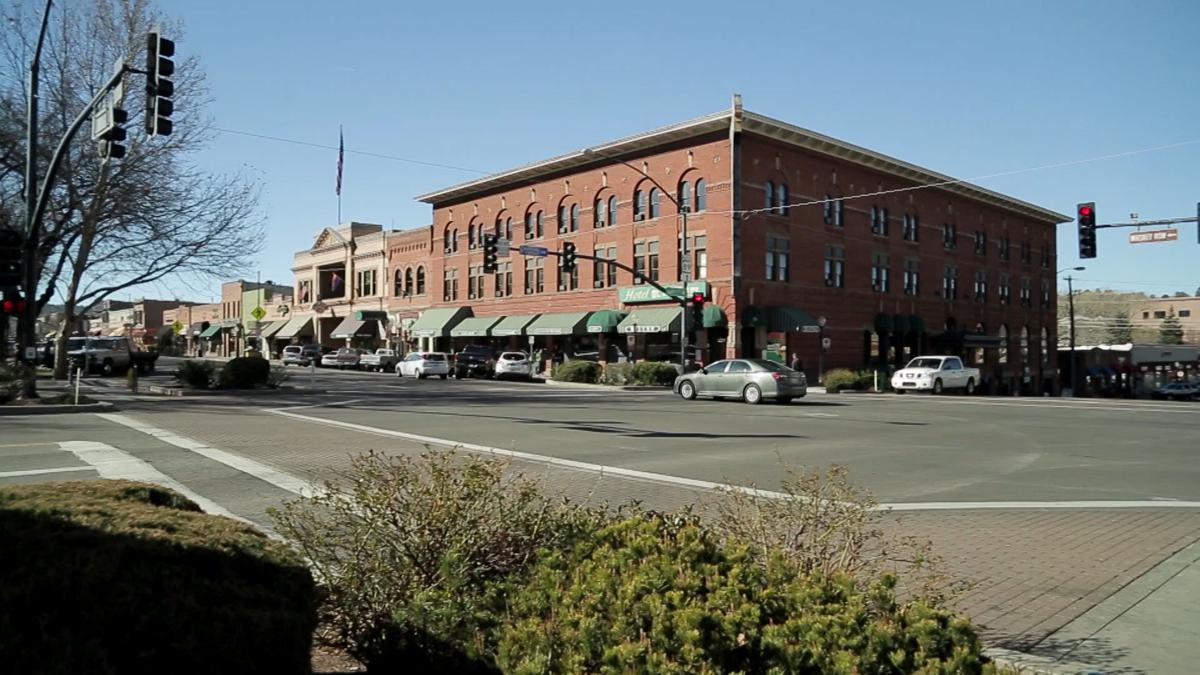 Whiskey Row in Prescott, AZ