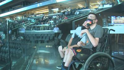 Phoenix Suns fans from Surprise get a day to remember