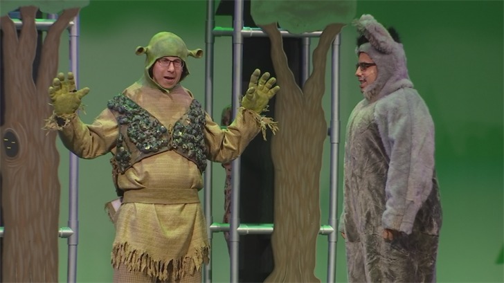 Special needs students star in 'Shrek' on stage in Mesa