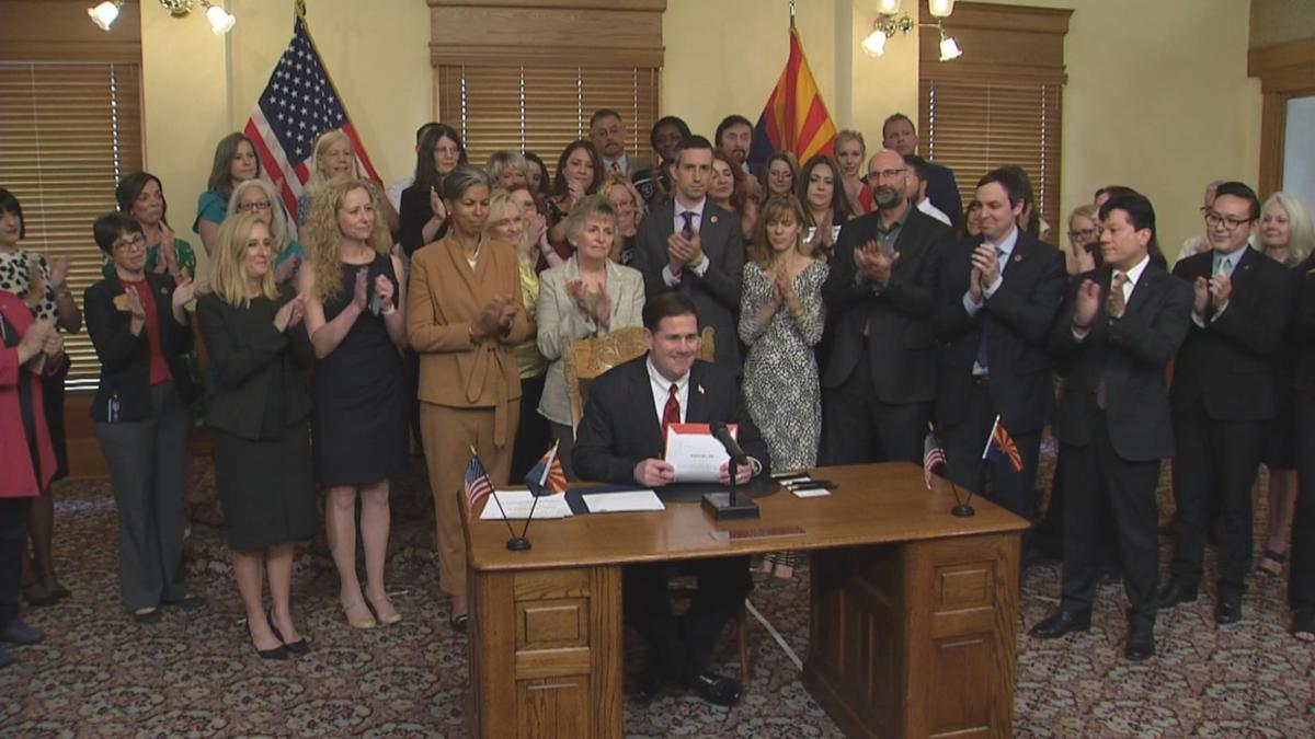 Gov. Ducey signs suicide prevention training bill