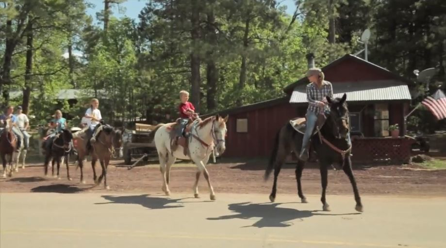 Horseback riding at Mormon Lake