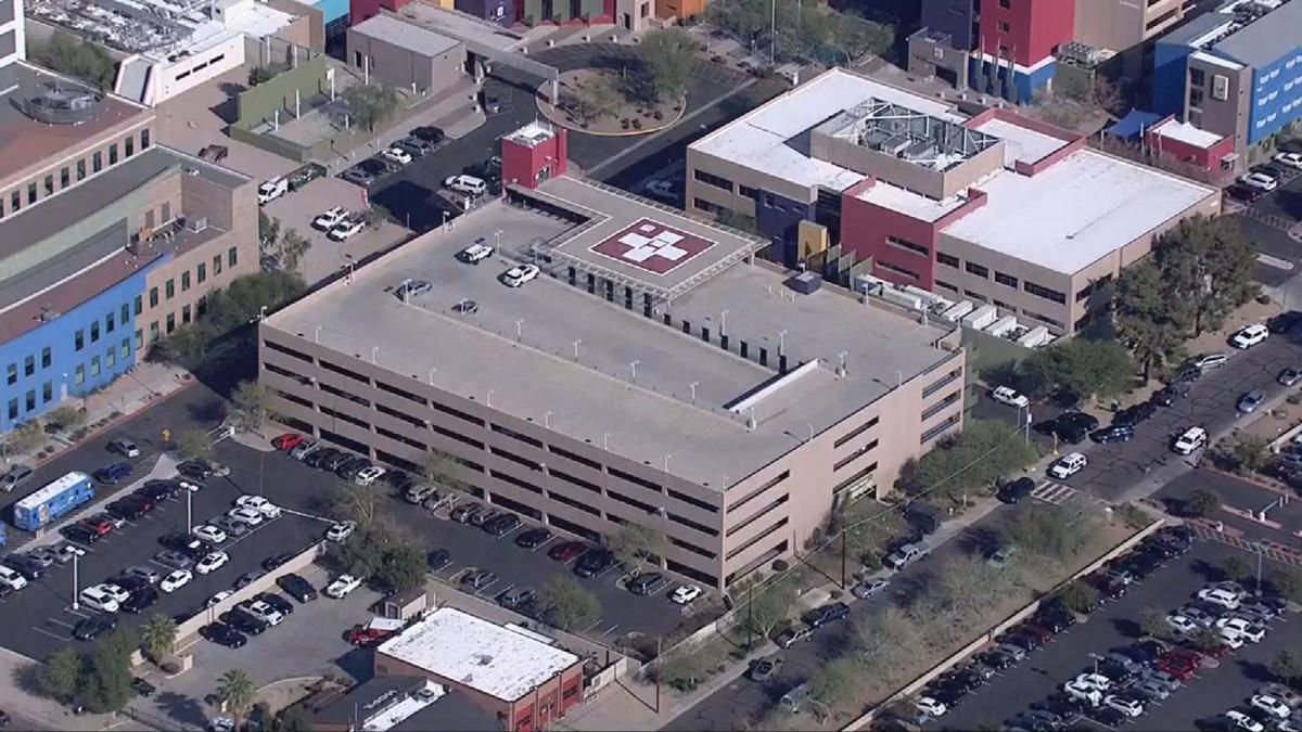 Police Catch Armed Robbery Suspect In Parking Garage At Phoenix