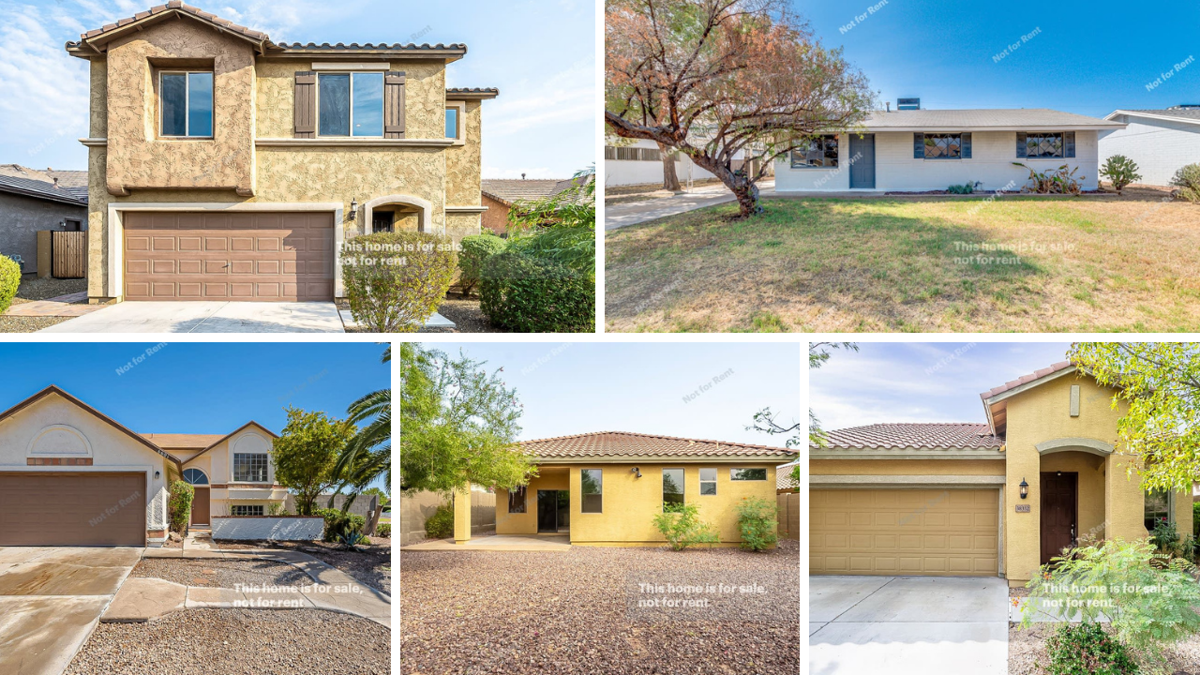 5 beautiful Phoenix-area homes for under $350K