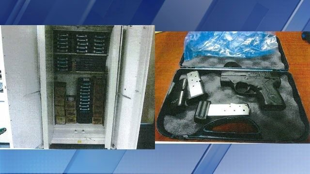 DPS confirms weapons stockpile seized at government agency