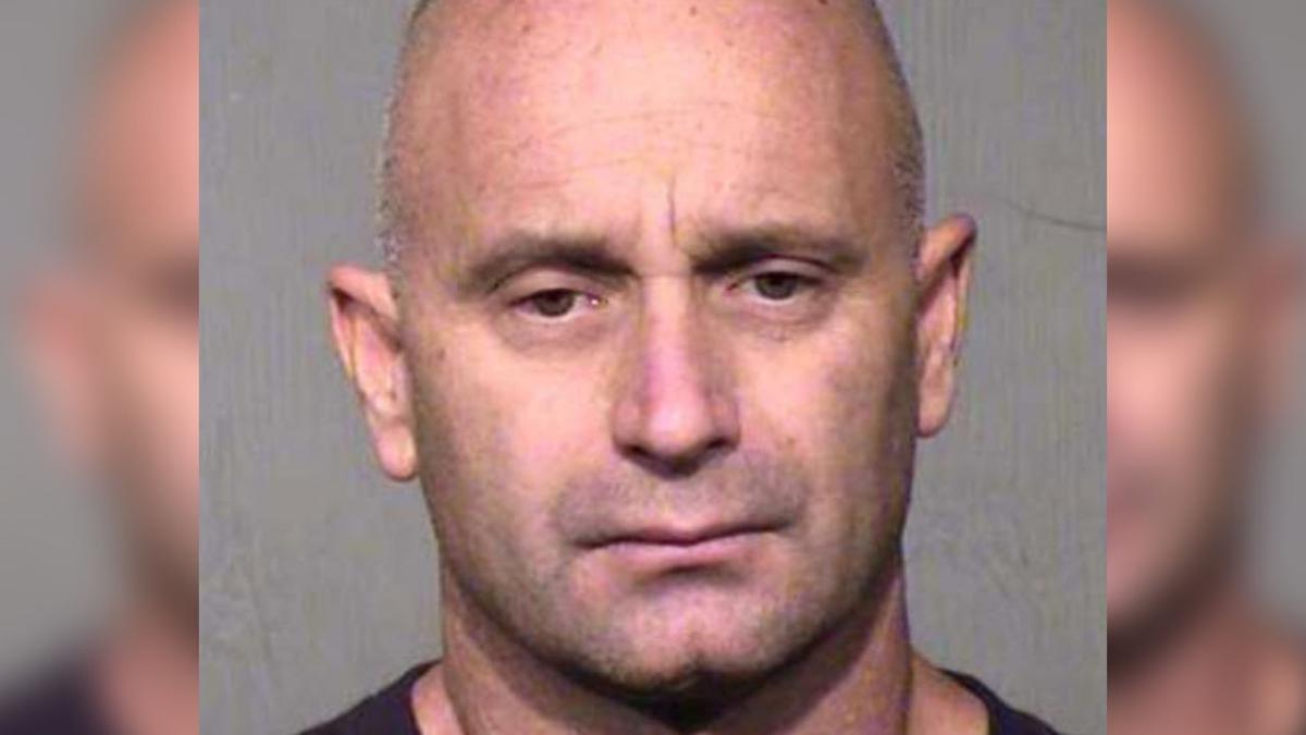 The Maricopa County's Sheriff's Office arrested former Gilbert Fire and Rescue captain Michael Palmatier Wednesday morning.