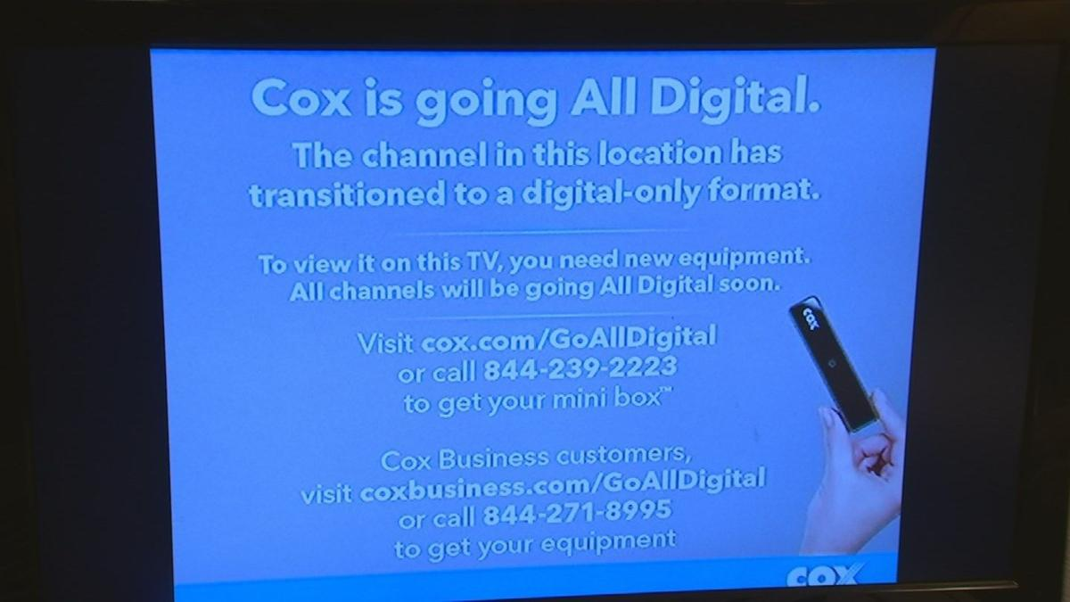 If you have Cox, you have to get 'the box'